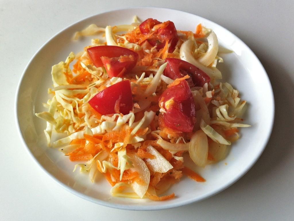 生野菜サラダ   豆と野菜の料理ノート