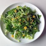 京丹後のみず菜のサラダ