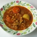 ベジタブルカレースープ