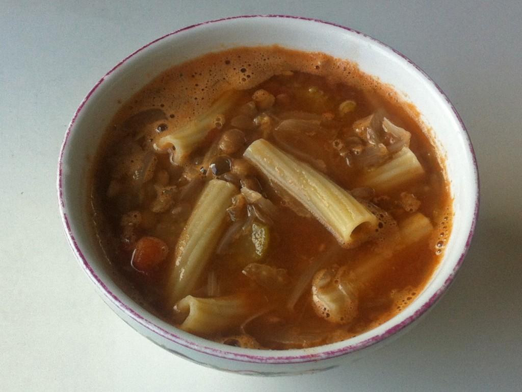 レンティルのスープ