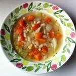 白インゲン豆と冬野菜のスープ