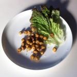 ヒヨコ豆(ガルバンゾー)の炒めもの