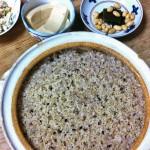 土鍋で玄米
