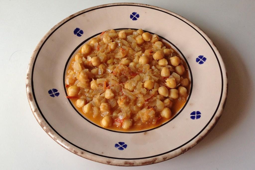 ガルバンゾー(ひよこ豆)のカレー