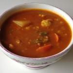 野菜カレーのスープ