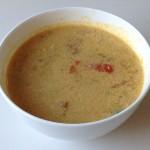 豆乳入り野菜スープ